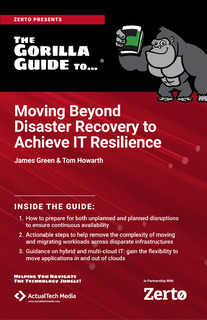 The Gorilla Guide to Moving Beyond Disaster Recovery to IT Resilience