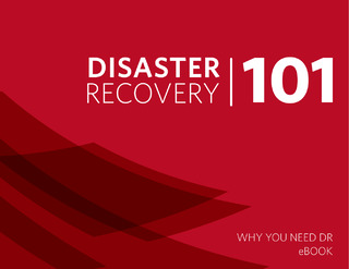 Disaster Recovery 101 eBook