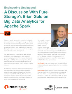 A Discussion With Pure Storage's Brian Gold on Big Data Analytics for Apache Spark