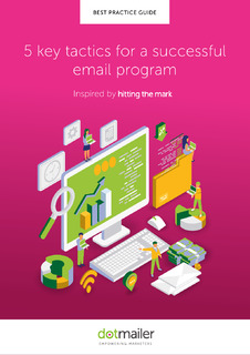 5 Key Tactics for a Successful Email Program