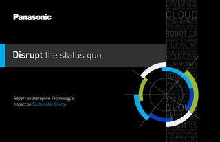 Industry Intelligence: Report on Disruptive Technology's Impact on Sustainable Energy