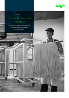 Food and Beverage Traceability