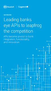 Leading banks eye APIs to leapfrog the competition