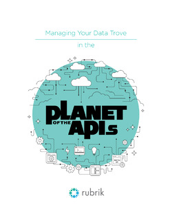 Managing Your Data Trove in the Planet of the APIs