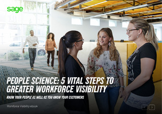 People Science: 5 Vital Steps to Greater Workforce Visibility