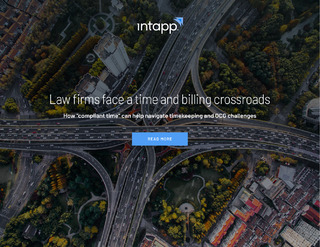 """Free ebook on improving compliant time: """"Law firms face a time and billing crossroads"""""""