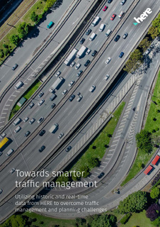Utilizing historic and real-time data from HERE to optimize traffic management