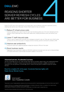 Four Reasons Shorter Server Refresh Cycles are Better for Business