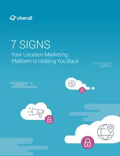 7 Signs Your Location Marketing is Holding You Back