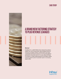 A brand new factoring strategy to plug revenue leakages