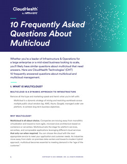 10 Frequently Asked Questions About Multicloud