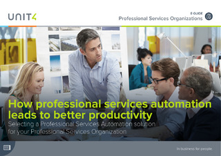 How Professional Services Automation Leads to Better Productivity