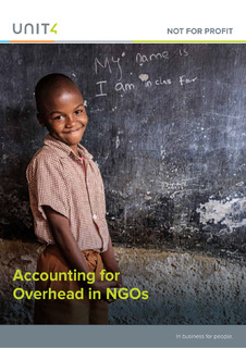 Accounting for Overhead in Non-profit Organizations