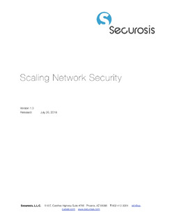 Securosis Report: Scaling Network Security