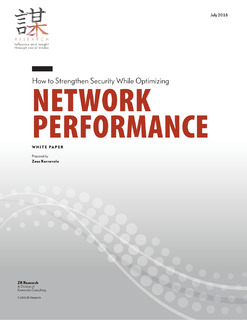 ZK Research: How to Strengthen Security While Optimizing Network Performance