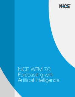 In depth discussion of the new Forecasting with Artificial Intelligence solution within WFM 7
