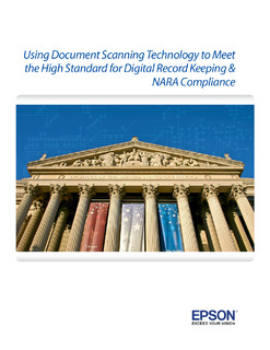 Using Document Scanning Technology to Meet the High Standard for Digital Record Keeping & Compliance