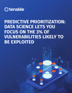 Predictive Prioritization: Data Science Lets You Focus on the 3% of Vulnerabilities Lik