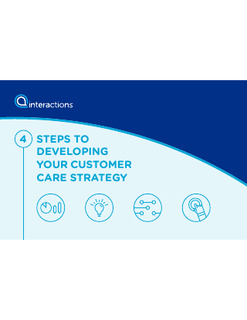 Steps To Developing Your Customer Care Strategy