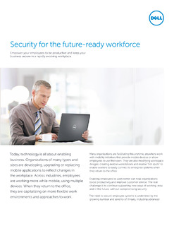 Security for the future-ready workforce