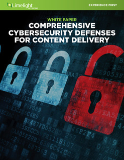 Whitepaper Comprehensive Cyberscurity Defenses For Content Delivery