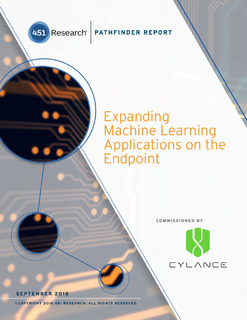 451 Research: Expanding Machine Learning Applications on the Endpoint