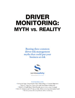 The Truth About Driver Monitoring