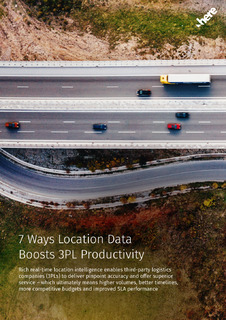 7 Ways Location Data Boosts 3PL Productivity