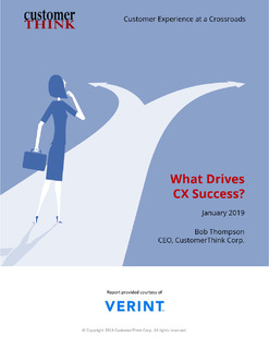 Customer Experience at a Crossroads: What Drives CX Success?