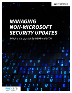 Managing Non-Microsoft Security Updates