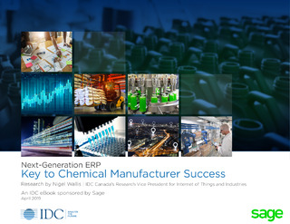 Next-Generation ERP Key to Chemical Manufacturer Success