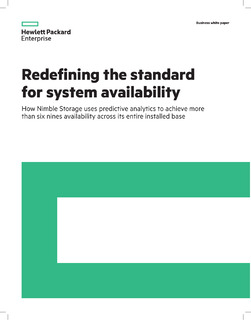 Redefining the standard for system availability
