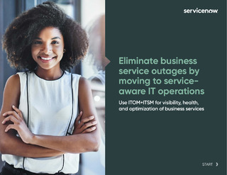 Eliminate business service outages by moving to service-aware IT operations