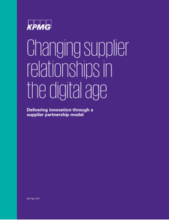 Insight: Changing supplier relationships in a digital age