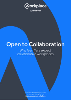 Open to Collaboration: Why Gen Yers Expect Collaborative Workplaces