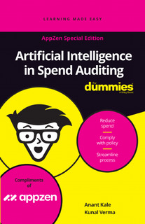 Artificial Intelligence in Spend Auditing for Dummies