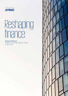 Report – Reshaping Finance: Building the service delivery model of the future