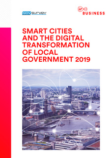 Smart Cities and the Digital Transformation of Local Government 2019