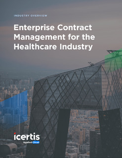 Enterprise Contract Management for the Healthcare Industry