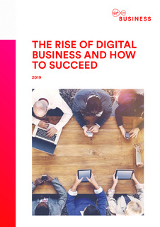 The Rise of Digital Business and how to Succeed