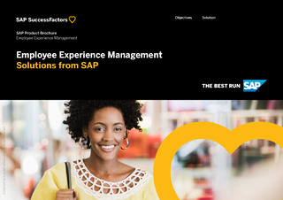 Employee Experience Management Solutions from SAP