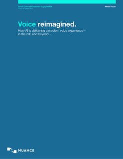 How AI Is Delivering a Modern Voice Experience – in the IVR and Beyond