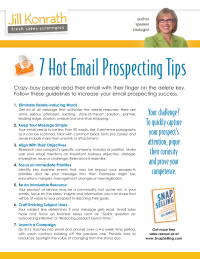 7 Hot Email Prospecting Tips