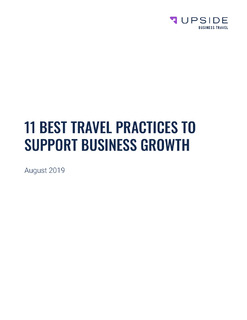 11 Best Travel Practices to Support Business Growth