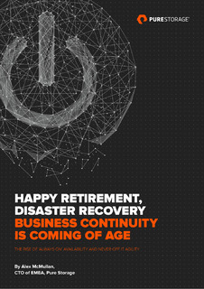 Happy Retirement, Disaster Recovery Business Continuity