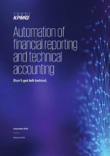 Report: Automating financial reporting and technical accounting – are you ready?
