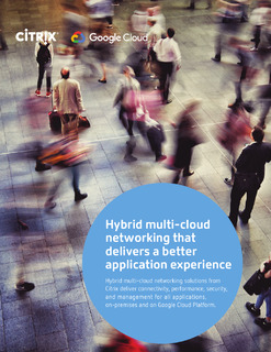 Hybrid multi-cloud networking that delivers a better application experience