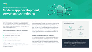 Modern app development, serverless technologies