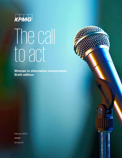Women in Alternatives: The Call to Act