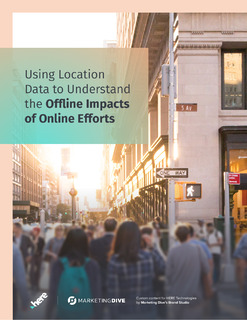 Using Location Data to Understand the Offline Impacts of Online Efforts
